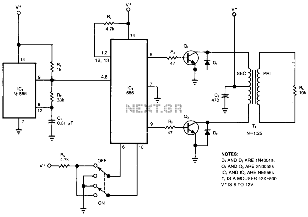 medium resolution of high voltage inverter
