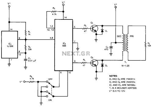 small resolution of high voltage inverter