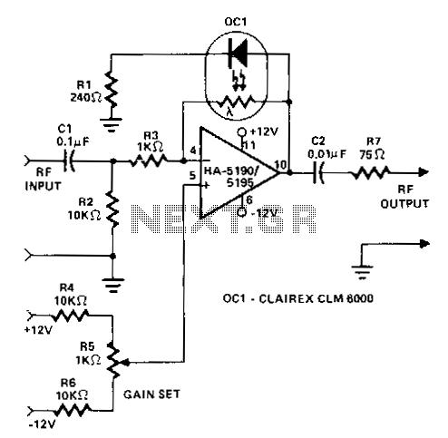 > rf > amplifiers > Rf wideband adjustable agc amplifier