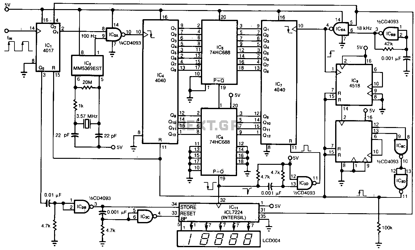 Related with 0 60 counter circuit diagram