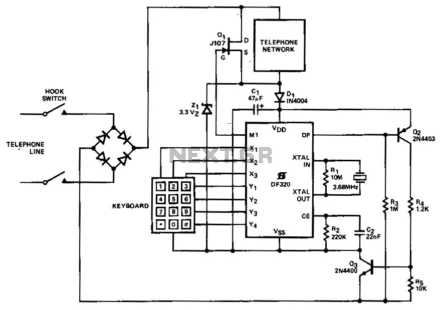 > telephone > telephone circuits > series telephone