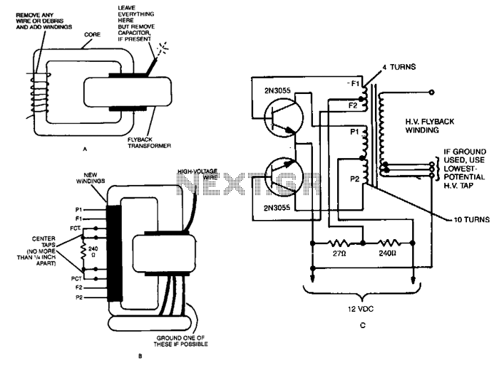 Tesla Coil Schematic Wiring Diagram With Neon Sign