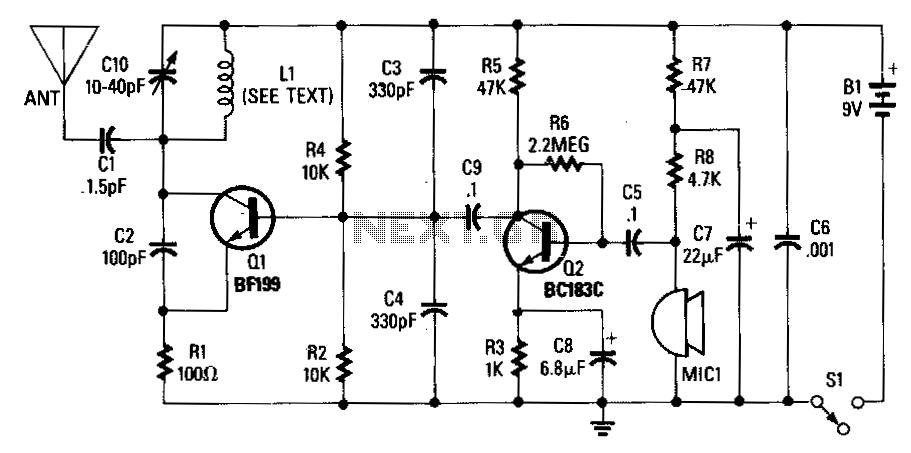 > rf > fm transmitters > Wireless fm microphone l13821