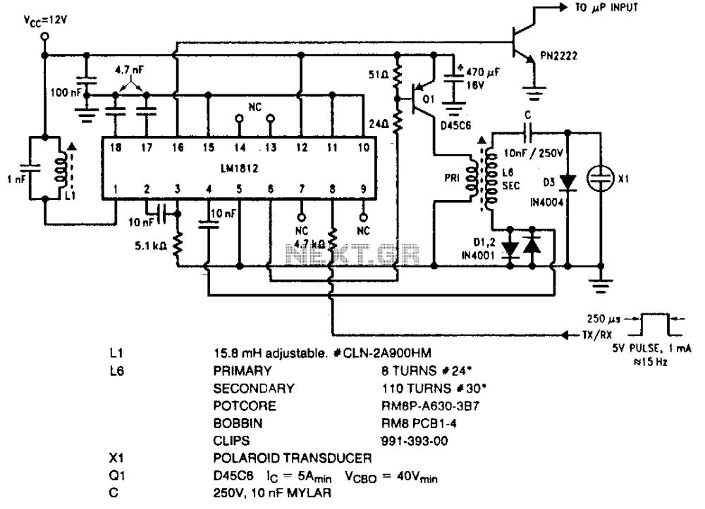 medium resolution of ultrasonic circuit audio circuits next gr simple ultrasonic wave generator simple circuit diagram