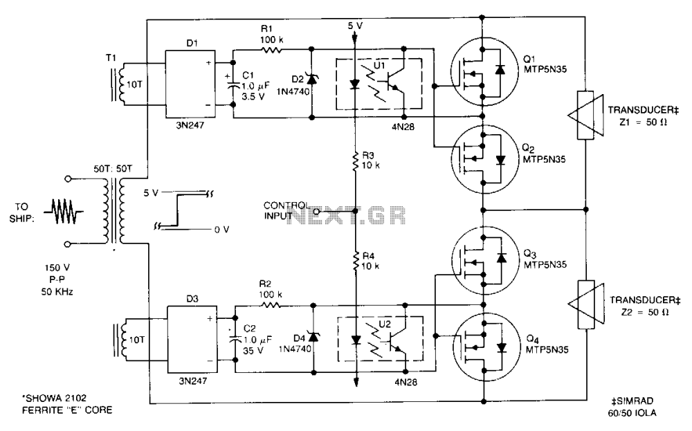 medium resolution of sonar transducer switch