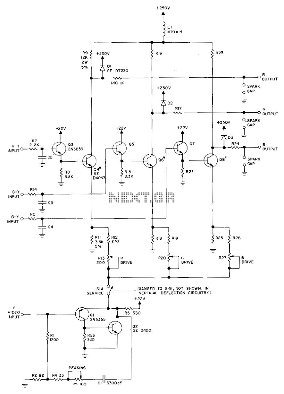 medium resolution of video amplifier circuit video circuits next gr how to build video amplifier circuit diagram