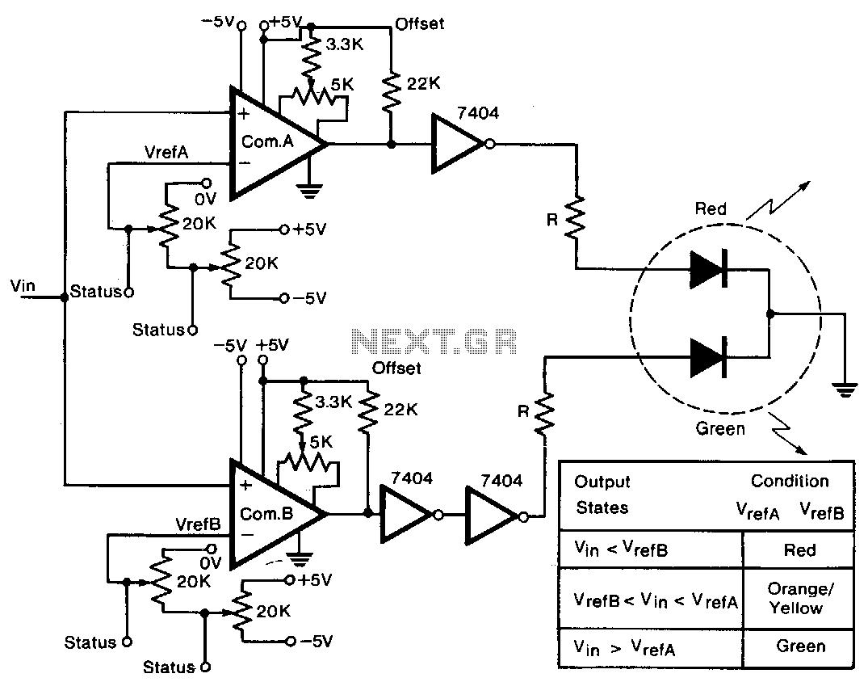 voltmeter circuit : Meter Counter Circuits :: Next.gr