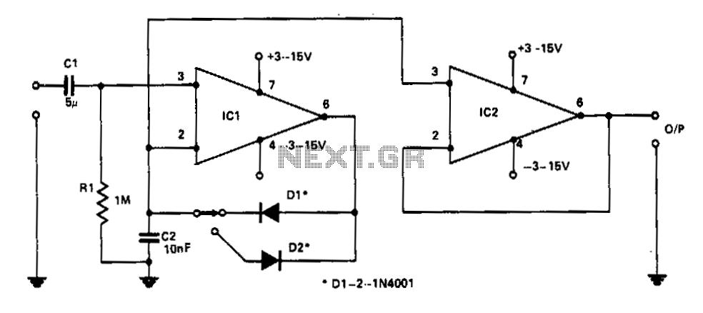 digitally controlled dual polarity amplifier