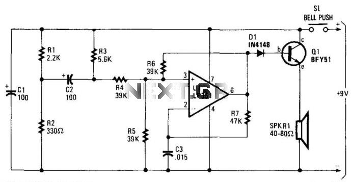 doorbell Circuit : Other Circuits :: Next.gr