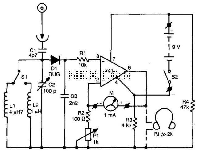 meter circuit : Meter Counter Circuits :: Next.gr