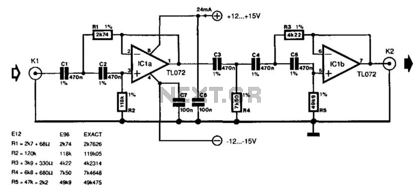 Turntable Rumble Filter under Audio Filters Circuits