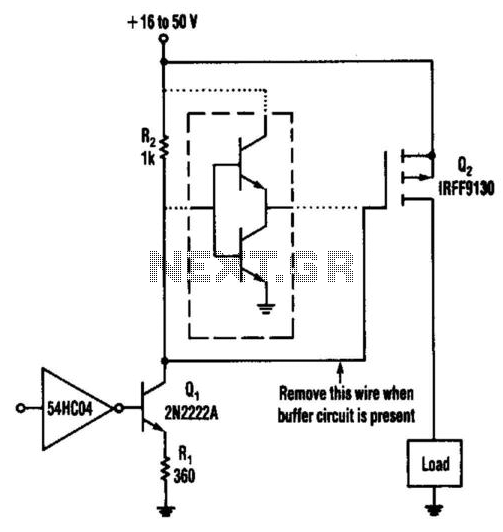 Low-Level Power Fet Driver Method under Mosfet Circuits