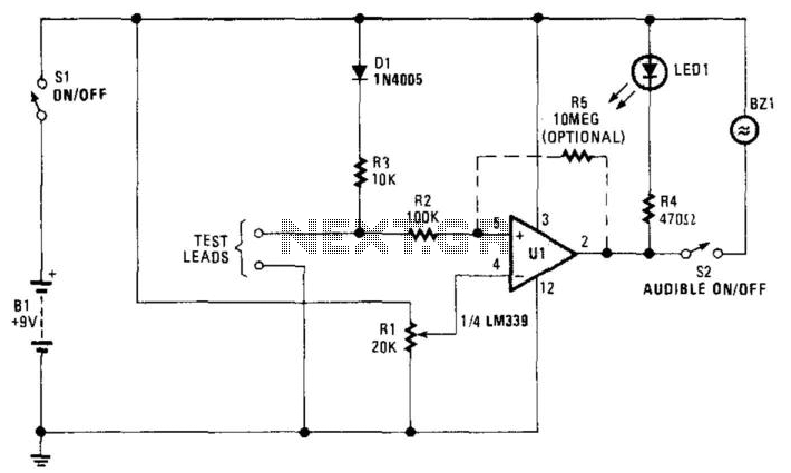 Rodent Repellent: Rodent Repellent Circuit Diagram