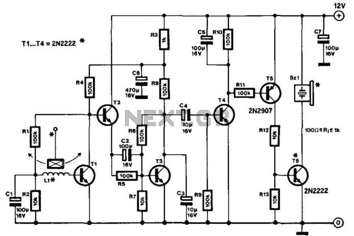 Sensitive Low-Current-Drain Motion Detector under Human