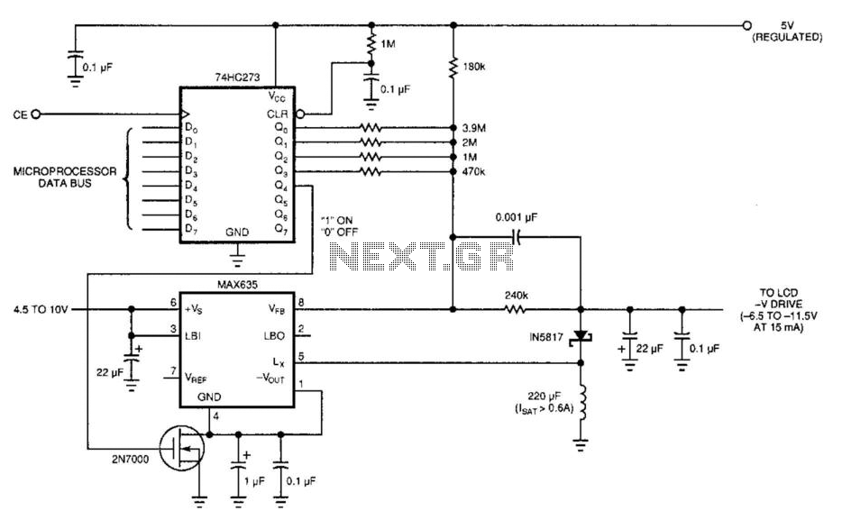 Simple Lcd Display Power Supply under AC-DC & DC-DC