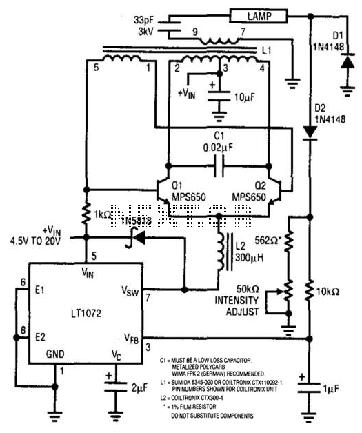 high voltage circuit : Power Supply Circuits :: Next.gr