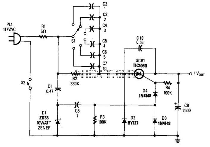 Transformerless Power Supply under AC-DC & DC-DC Circuits