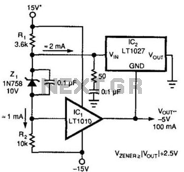 comparator circuit : Sensors Detectors Circuits :: Next.gr