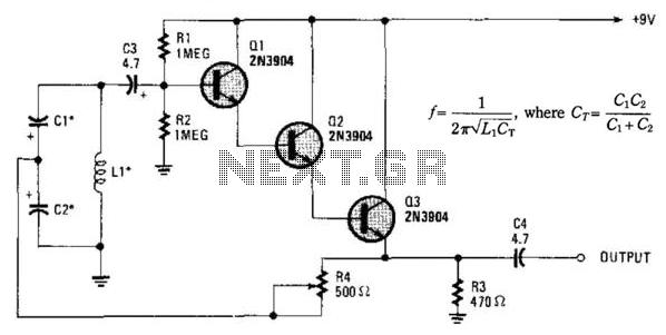 sine wave oscillator circuit : Oscillator Circuits :: Next.gr