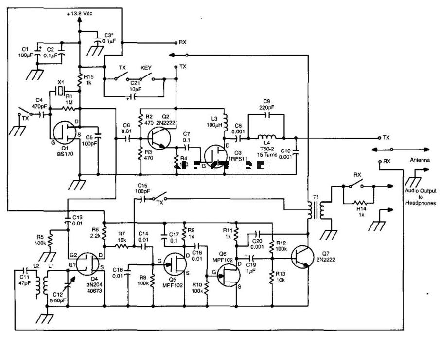 transmitter circuit : RF Circuits :: Next.gr