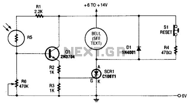 light sensor circuit : Sensors Detectors Circuits :: Next.gr