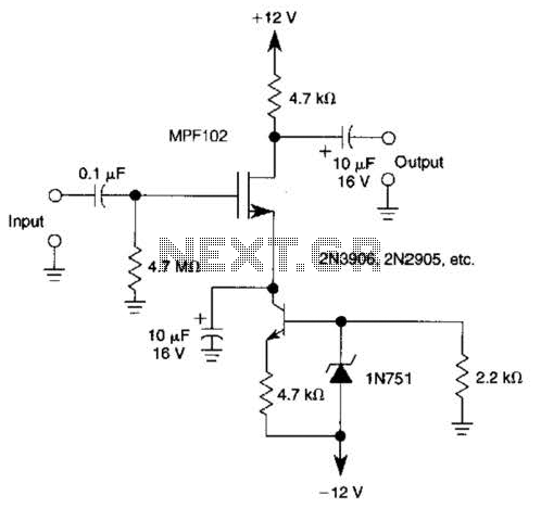 Fet Audio Mixer Audio Synthesizer Wiring Diagram ~ Odicis