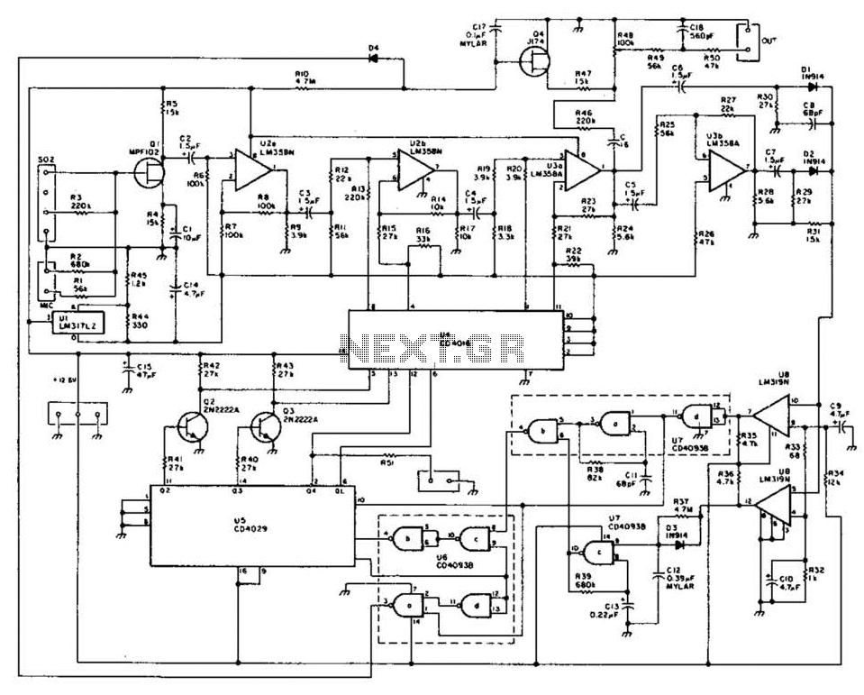 Digital Automatic Level Control (Alc) Circuit under Audio