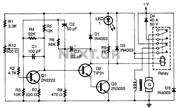 > automotive > automotive circuits > auto generator