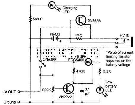 battery charger circuit : Power Supply Circuits :: Next.gr