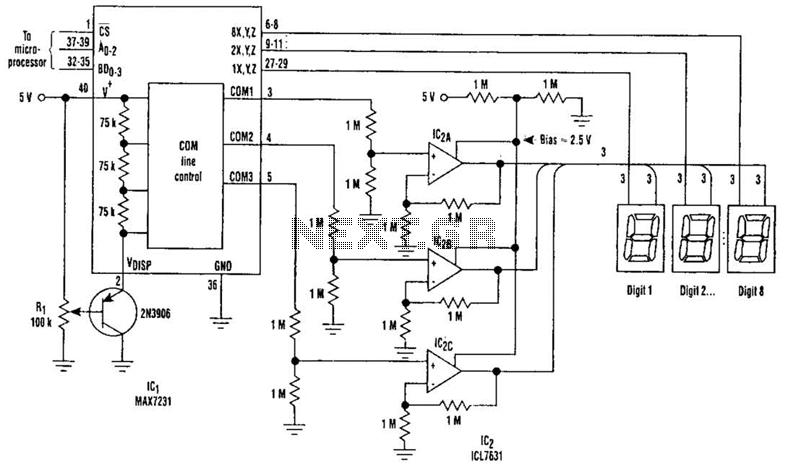 lcd circuit : Light Laser LED Circuits :: Next.gr