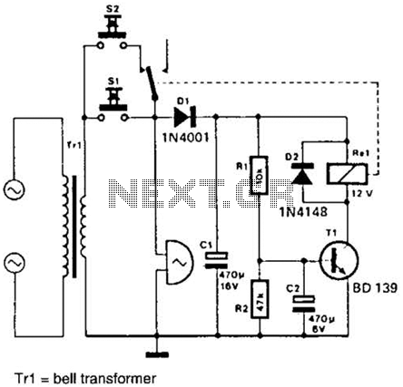 doorbell Circuit : Other Circuits :: Next.gr