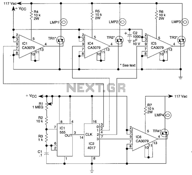 sequencer circuit : Other Circuits :: Next.gr