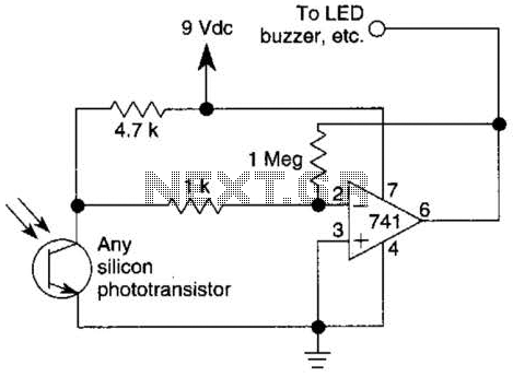 infrared circuit : Light Laser LED Circuits :: Next.gr