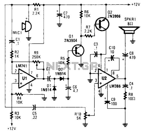 intercom circuit : Telephone Circuits :: Next.gr