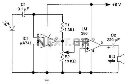 Photodiode Amplifier Circuit, Photodiode, Free Engine