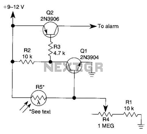 Photoelectric Sensor Circuit under Light Sensing Circuits