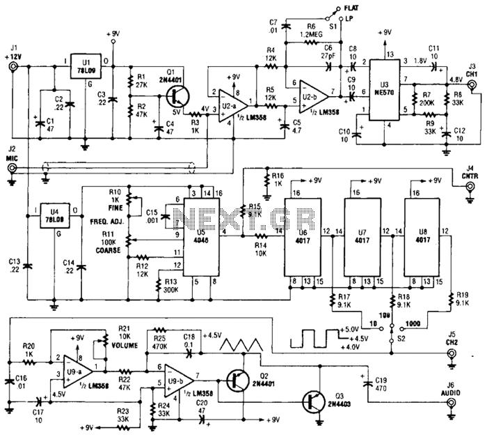 audio oscillator : Audio Circuits :: Next.gr
