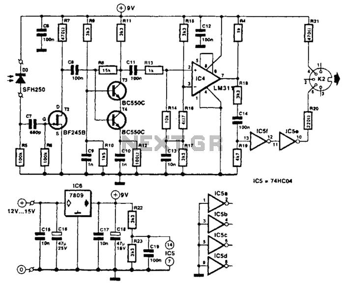vacuum tube valve circuit : Audio Circuits :: Next.gr