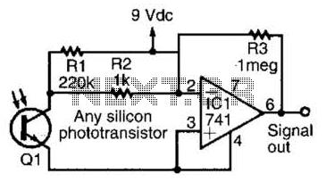 Transistor Level Detector Circuit PCB Circuit Wiring