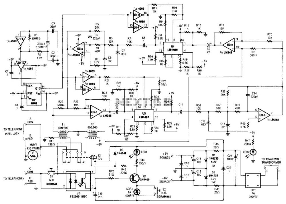 medium resolution of telephone circuit board telephone hybrid circuit telephone ringer circuit telephone circuit schematic basic telephone circuit diagram