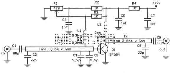 video amplifier circuit : Video Circuits :: Next.gr