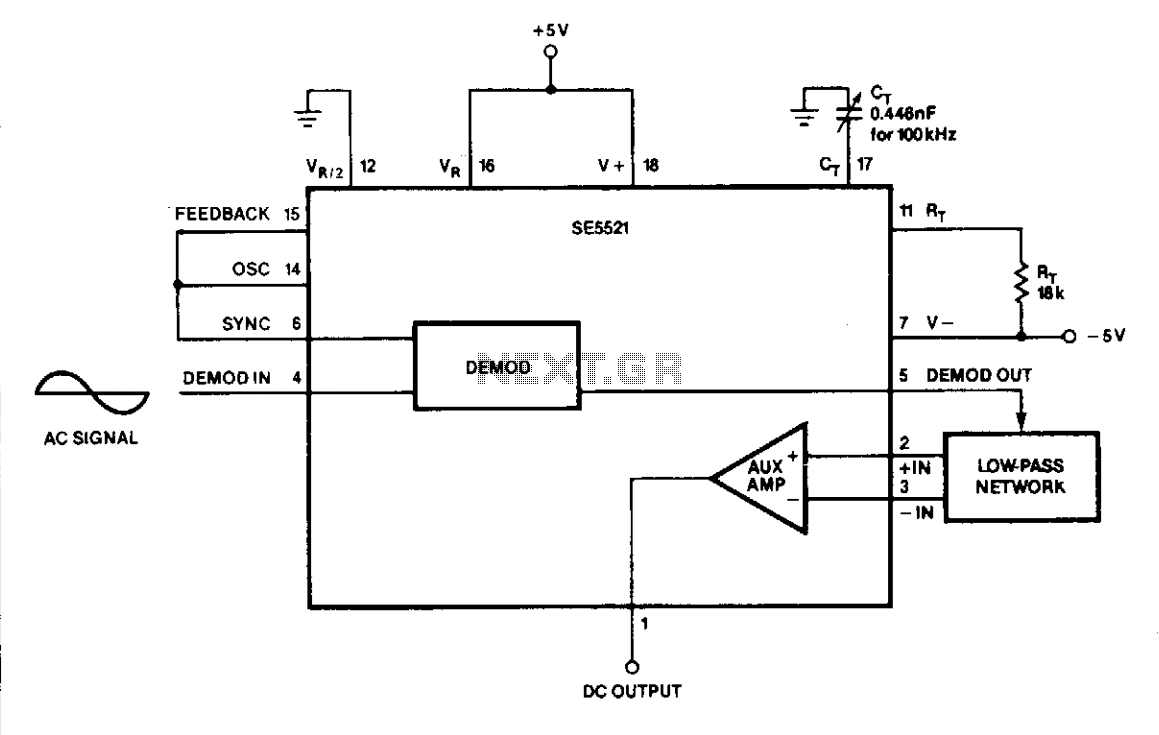 hight resolution of rms to dc converter