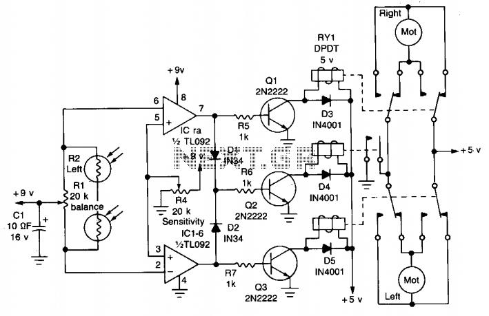 light sensor circuit : Sensors Detectors Circuits :: Next.gr
