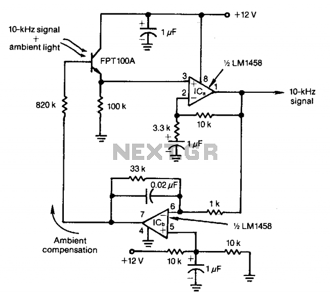 light sensor circuit Page 2 : Sensors Detectors Circuits