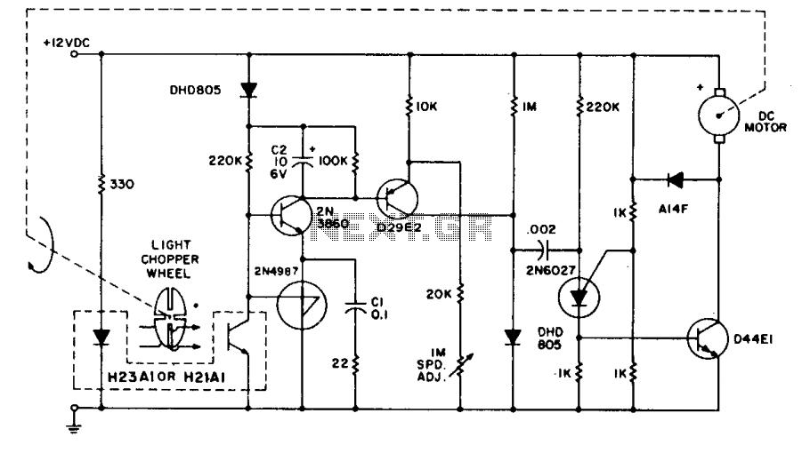 Tachometer feedback control under Motor Control Circuits