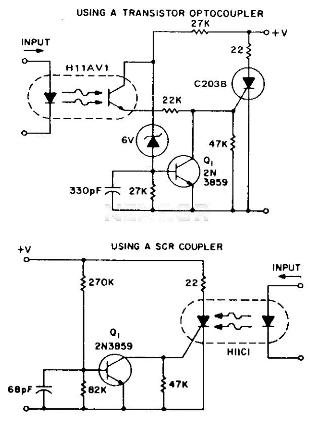 Isolation and zero voltage switching logic under Switching
