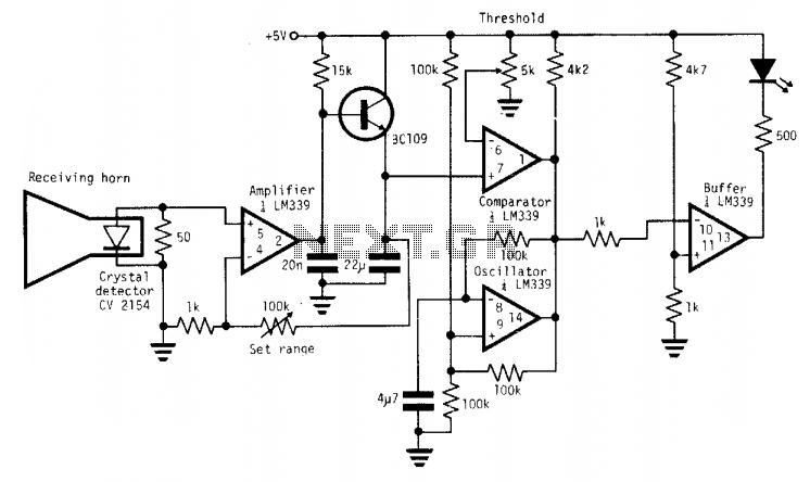 > sens detectors > various circuits > sound detector tone