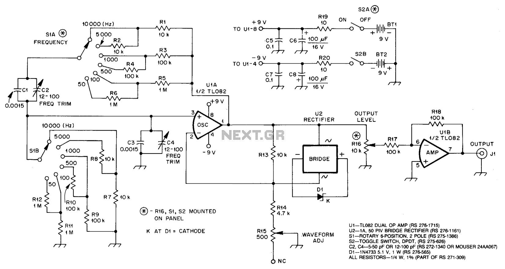 Sine Wave Equation Generator