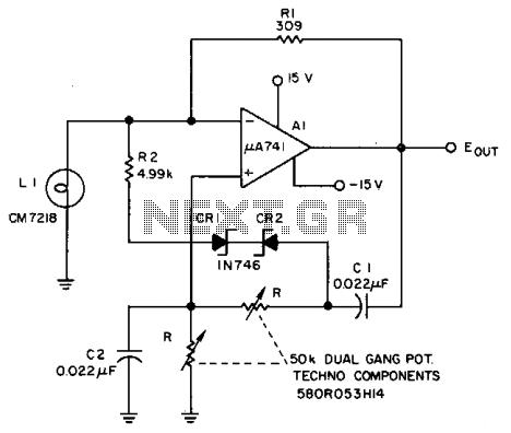 High Accuracy Sine Wave Oscillatorcircuit Diagram World