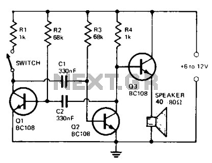 > security > siren circuits > electronic ship siren l12346